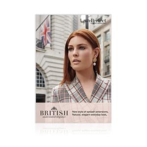 Lash Perfect British Strut Card