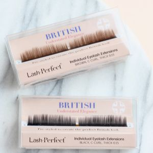 Pre Styled Lashes - C 0.15 Brown
