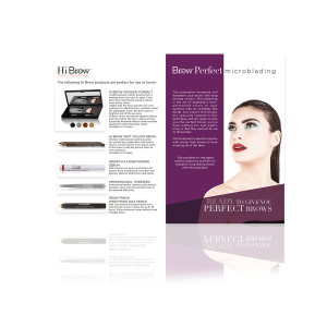 Microblading Salon/Aftercare Leaflet