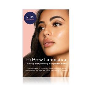 Hi Brow Lamination Strut Card