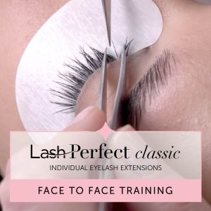 Lash Perfect Classic Individual Eyelash Extensions Face to Face Training with Starter Kit