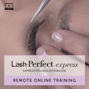 Lash Perfect Express Eyelash Extensions Remote Training with Kit