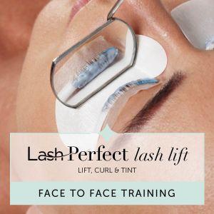 Lash Perfect Lash Lift Face to Face Training