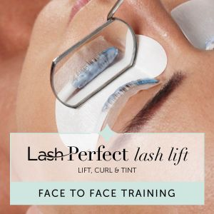 Lash Perfect Lash Lift Face to Face Training with Starter Kit