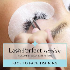 Lash Perfect Russian Volume Eyelash Extensions Face to Face Training with Starter Kit