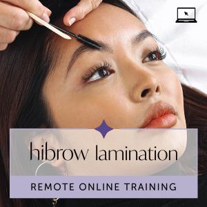 Hi Brow Lamination Remote Online Training with Kit