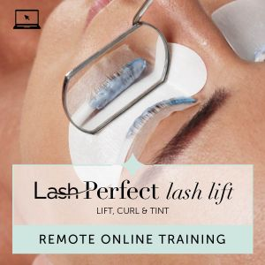 Lash Perfect Lash Lift Remote Online Training with Kit