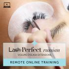 Lash Perfect Russian Remote Online Training with Kit